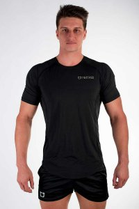 Twotags Purpose Short Sleeved T Shirt Black