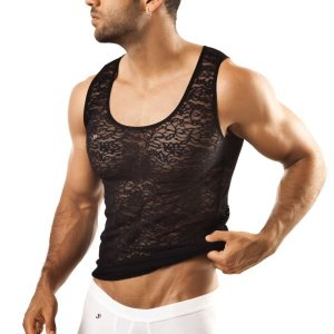 Joe Snyder Tank Top 21 Lace Black T Shirt