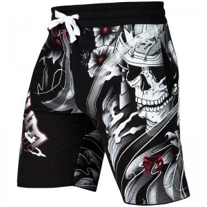 Venum Samurai Skull Training Cotton Sports Boardshorts Beach...