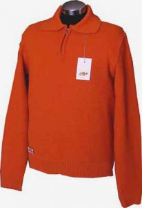 Elle Creazioni Milano Sweater Orange