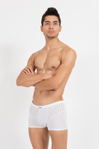 Lookme Trouble Boxer Brief Underwear White 45-67