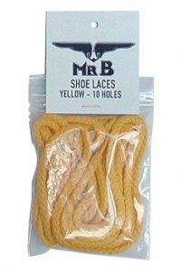 Mister B Shoe Laces Accessory Yellow 414920