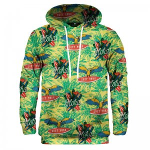 Mr. Gugu & Miss Go Aloha From Parrot Unisex Pullover Kangaroo Hoodie HK1497