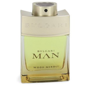 Bvlgari Man Wood Neroli Eau De Parfum Spray (Tester) 2 oz / ...