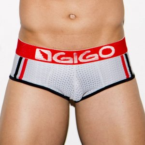 Gigo FRESH GREY Brief Underwear G01124