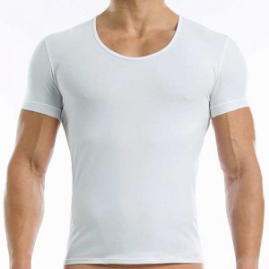 Modus Vivendi Antibacterial Short Sleeved T Shirt White 15641