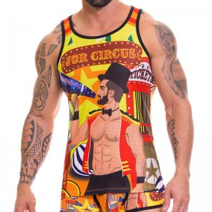 Jor CIRCUS Tank Top T Shirt 0640