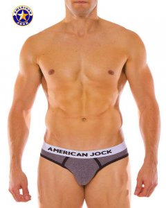 Go Softwear A J Olympic Jock Brief Jock Strap Underwear Charcoal 8780
