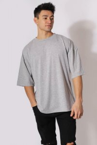 Jed North Energy Oversized Short Sleeved T Shirt Dark Grey J...