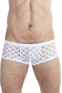 L'Homme Invisible Nightcall Mini Boxer Brief Underwear White...