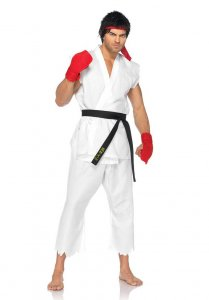 Leg Avenue Street Fighter Ryu Costume White 85081