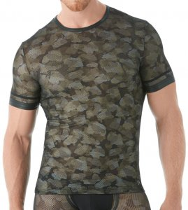 Gregg Homme CAMO Short Sleeved T Shirt 143007