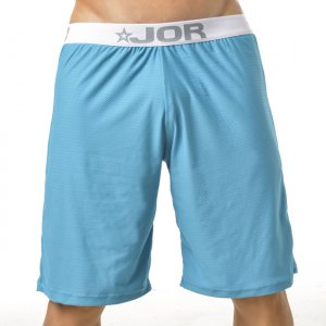 Jor NEON Loungewear Knee Length Shorts Underwear Blue