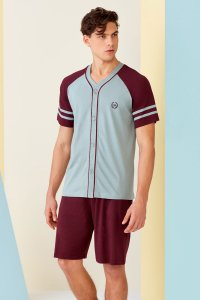 Doreanse College Button Down Short Sleeved T Shirt & Shorts ...