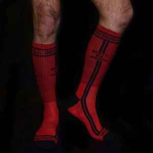 Breedwell Dirty By Choice Socks Red BW00204