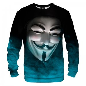 Mr. Gugu & Miss Go Anonymous Face Unisex Sweater S-PC1379