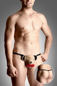 Softline Teddy Bear G String Underwear Beige 4492