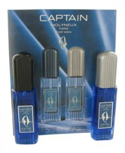Molyneux Captain 2.5 oz / 73.93 mL Eau De Toilette Spray + 2.5 oz / 73.93 mL After Shave Gift Set Men's Fragrance 412510