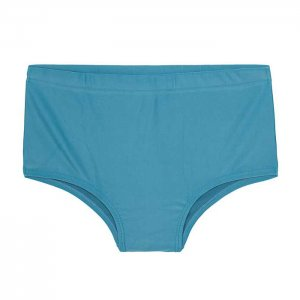 Body Show Sunga Claudio Plain Square Cut Trunk Swimwear Blue