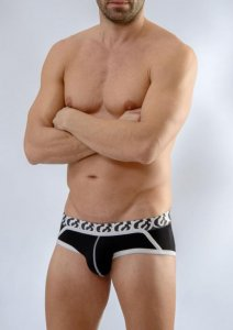 Geronimo Slip Brief Underwear Black 1661S2-1