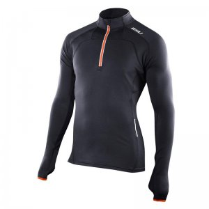 2XU G:2 Micro Thermal Top Long Sleeved Sweater Black MR2974A