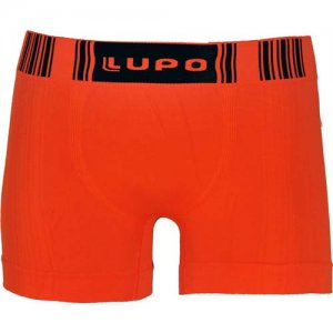 Lupo Seamless Microfiber Sunga Trunk Underwear Red 766-1