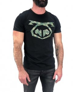 Nasty Pig Troop Snout Short Sleeved T Shirt Black 1357