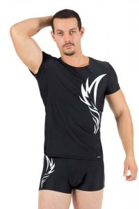 Lookme Angel Short Sleeved T Shirt Black 54-81