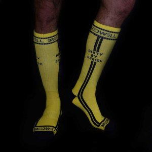 Breedwell Dirty By Choice Socks Yellow BW00206