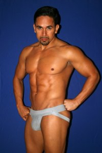 Activeman 2 Inch Waistband Jock Strap Underwear Heather Grey A220