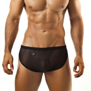 Joe Snyder Running Shorts 09 Mesh Black Sportswear