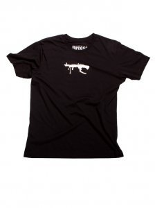 Breese M60 Short Sleeved T Shirt Black M60BLKT100