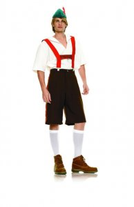 Leg Avenue Costume Set Lederhosen 83240