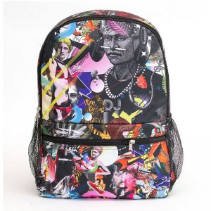 Mr. Gugu & Miss Go Popping Collage Backpack BP000