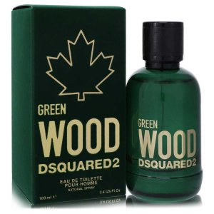 Dsquared2 Green Wood Eau De Toilette Spray 3.4 oz / 100.55 m...