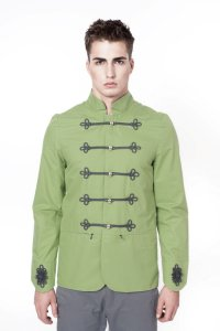 Sopopular Daniel Sweater Jacket Green 416-11-64168