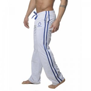 Addicted Air Mesh Track Pants White AD211