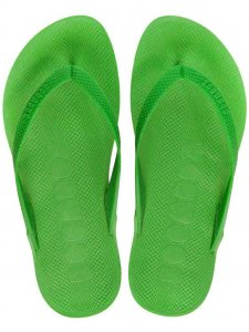 Boombuz Taiga Basic Naked Flip Flop Slippers Green