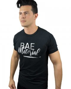 The Well Branded Bae Material Basex Short Sleeved T Shirt Black