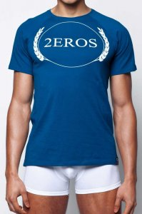 2EROS Olympus Short Sleeved T Shirt Navy T20