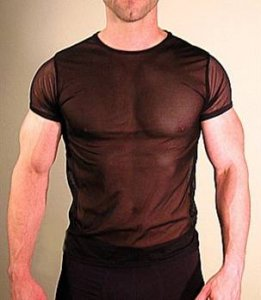 Buffedbod Sheer Bodyshirt Short Sleeved T Shirt BS006 [Pick Color]