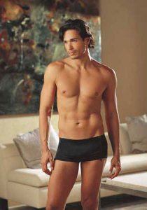 Dreamguy Zipper Shorts Boxer Brief Underwear Black 4829