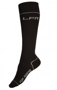 Litex Riders Knee Socks Black J2001