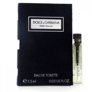 Dolce & Gabbana Vial (Sample) 0.06 oz / 1.77 mL Men's Fragrance 424308