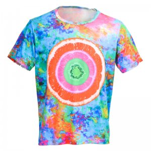 Andreas Diofebi The Trinitas Tutti Frutti Loose Cut Short Sleeved T Shirt