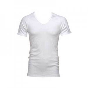 Bonds Deep Crew Short Sleeved Undershirt White 3912