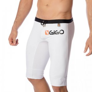 Gigo LOGO WHITE Medium Jammer Swimwear S04102