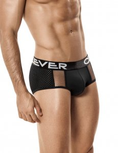 Clever Zircon Classic Brief Underwear Black 5197