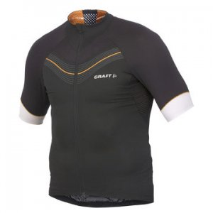 Craft Elite Bike Short Sleeved T Shirt Black/Tiger 1901934