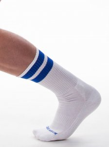 Barcode Berlin [3 pack] Gym Socks White/Royal 91366-212